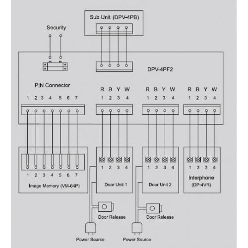 commax dp kss принципиальная электрическая