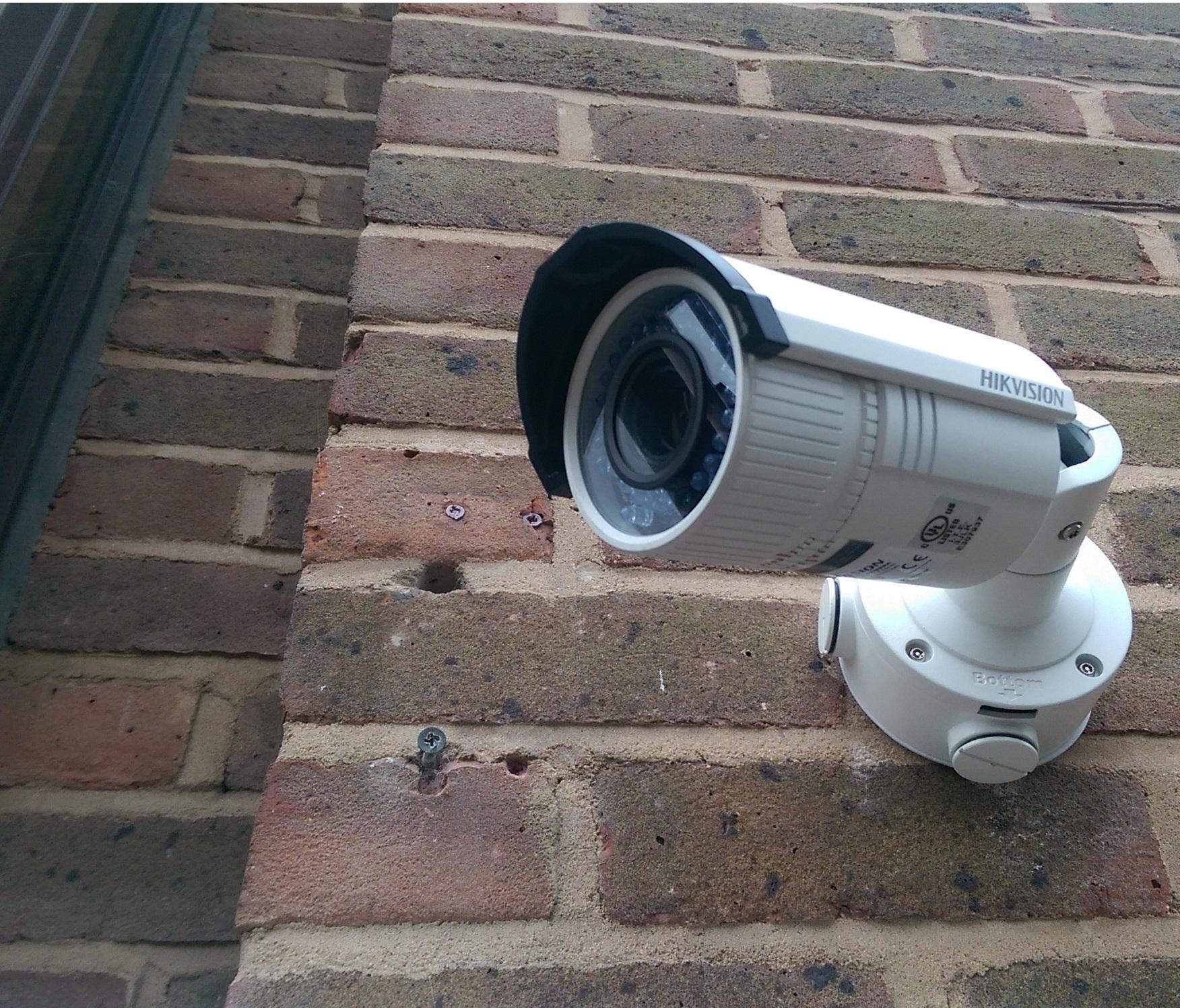Цена на установку камер видеонаблюдения для дома