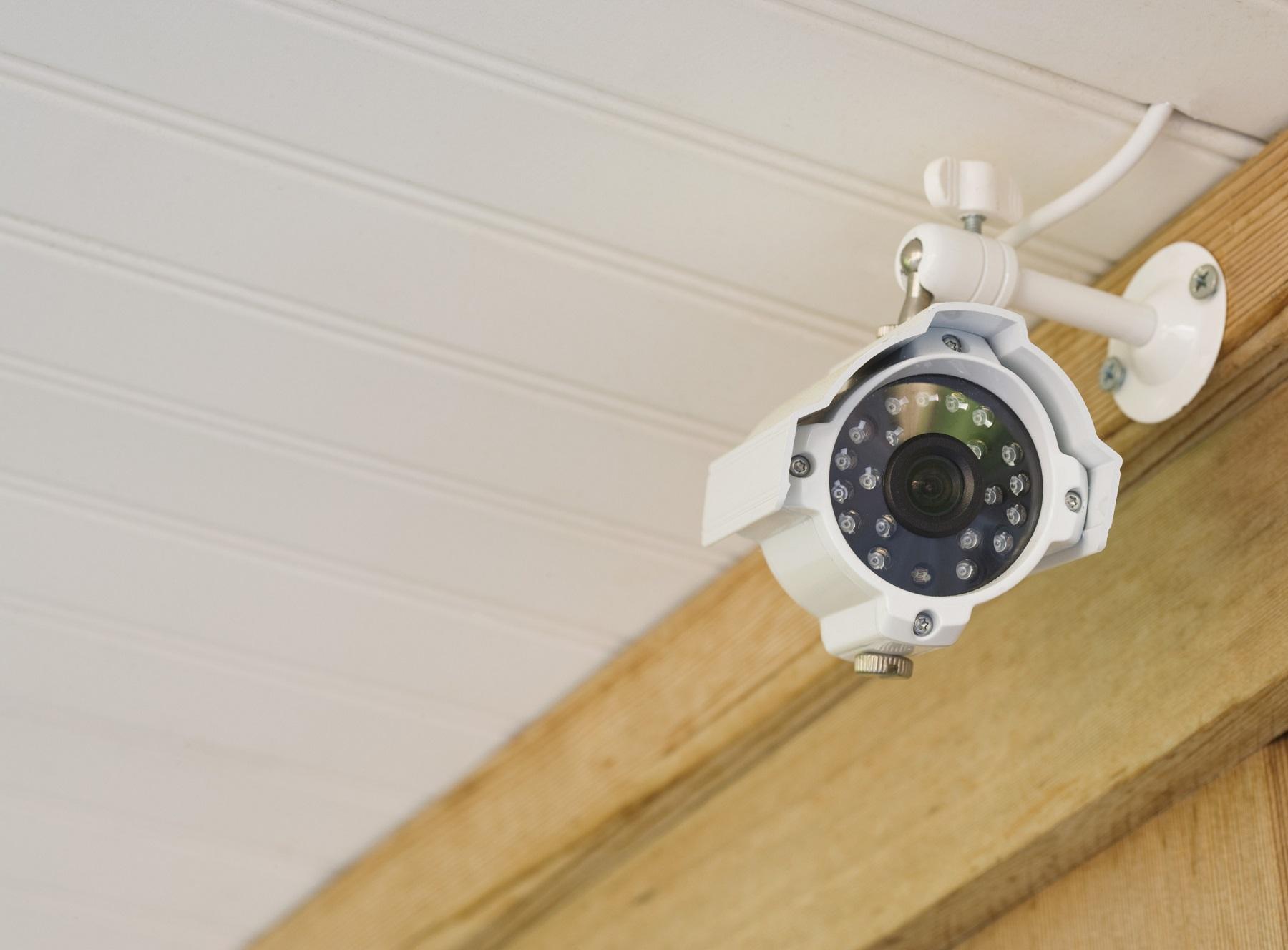 Установка системы наблюдения для дачи