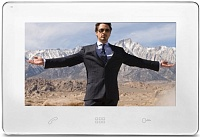 "Tantos Stark (White) 9"" hands free monitor multi function"