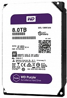 Жесткий диск Western Digital Purple 8TB 128MB 5400rpm WD80PUZX 3.5 SATA III