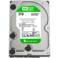Жесткий диск Western Digital Green 2TB SATA III