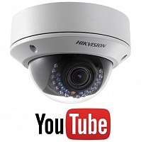 IP видеокамера Hikvision DS-2CD2720F-IS+YouTube protocol