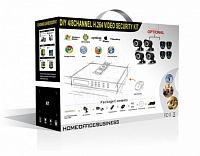 CoVi Security NVK-2003 WI-FI IP KIT Комплект видеонаблюдения 2 уличные IP WI-FI видеокамеры